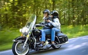 Motorcycling: a noisy activity as well, with levels of 85 dB or more. It is a good idea to use a helmet when riding a motorcycle — both for your general safety but also to protect your hearing.