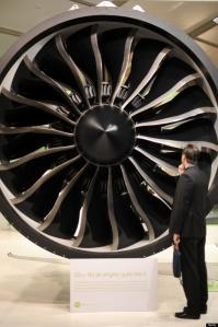 Jet engine close up: 160 dB